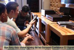 Công Tại Nhà Anh Việt – TP. Hà Nội: Dynaudio Confidence C2 Signature