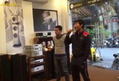 """? Hot : Khách Hàng của Audio Hà Nội có giọng ca """"oanh vàng"""" như Quang Lê"""