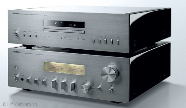 Đầu Yamaha CD-S2100 và Ampli A-S2100