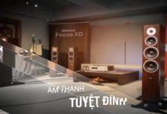 Dynaudio focus XD Full HD- Đẳng cấp thương hiệu Đam Mạch