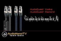 [AudioHanoiTV] Số 90: Review Dây tín hiệu mạng RJ/E AudioQuest Vodka, AudioQuest Diamond