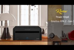 [AudioHanoiTV] Số 171: Review Power Ampli Emotiva XPA 2 – Gen 3