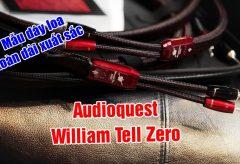 Mẫu dây loa toàn dải xuất sắc AudioQuest William Tell Zero| Audio HanoiTV 289