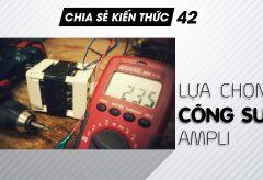 Lựa chọn công suất ampli phù hợp với không gian nghe nhạc | Chia sẻ kiến thức 42