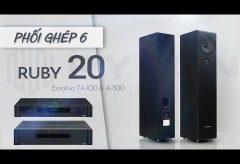 Trải nghiệm hoàn hảo từ sự kết hợp của loa Pylon Audio Opal 20 và Emotiva BasX PT 100   Phối ghép 6